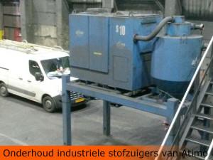 onderhoud industriele stofzuiger