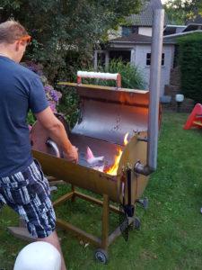 olievat barbeque